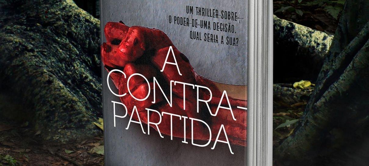[PUBLI] A Contrapartida | Livro de estreia de Uranio Bonoldi é um thriller imperdível