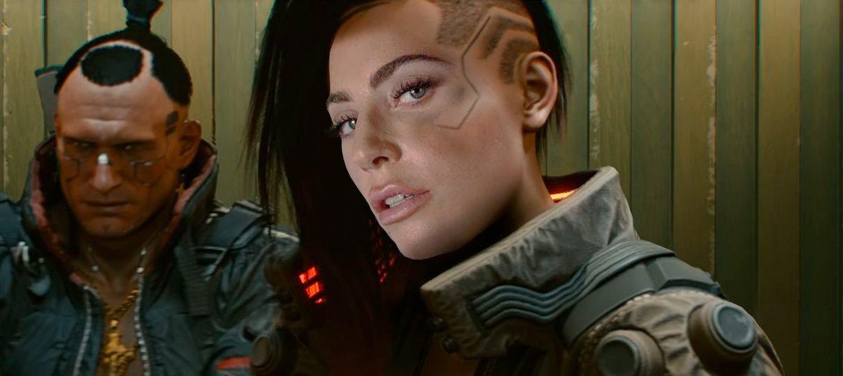 Cyberpunk 2077 terá participação da Lady Gaga e data chega na E3 2019, diz site