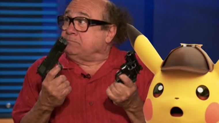 Animadores de Detetive Pikachu usaram voz de Danny DeVito durante a pré-produção