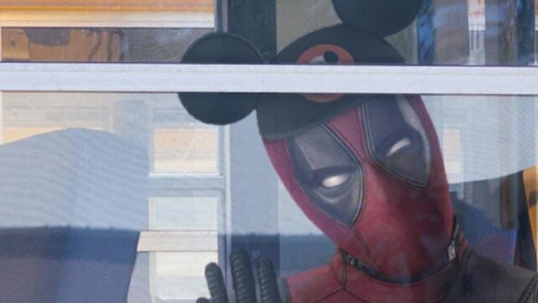Ryan Reynolds publica foto de Deadpool zoando com a compra da Fox pela Disney