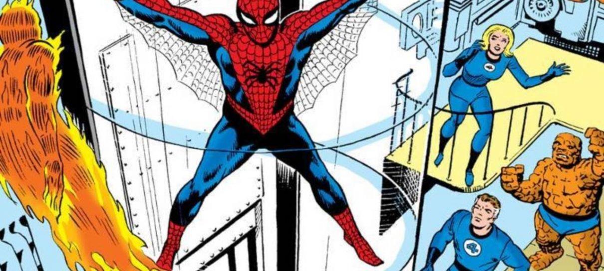 HQ de luxo do Homem-Aranha é lançada no Brasil com balão sem texto
