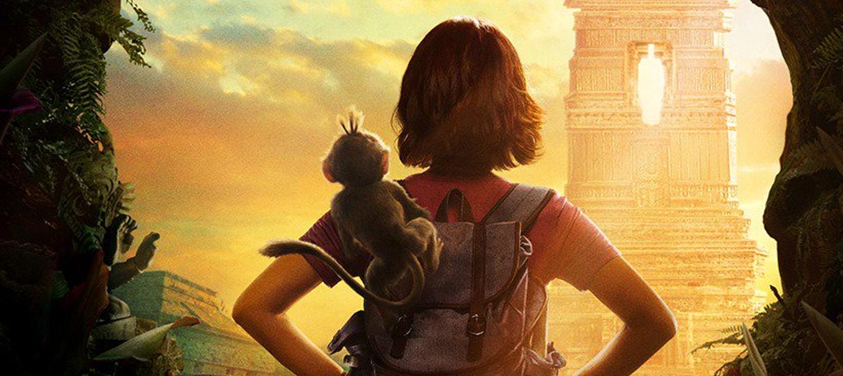 Dora e a Cidade Perdida ganha cartaz oficial e data para primeiro trailer