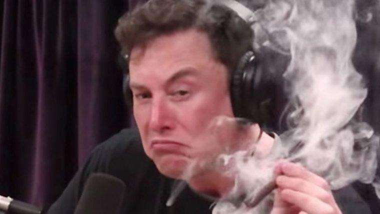 Elon Musk pode ter problemas com o Pentágono após incidente com maconha