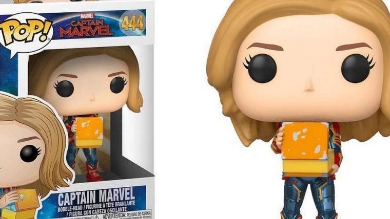 Capitã Marvel | Novos colecionáveis da Funko trazem um pequeno spoiler