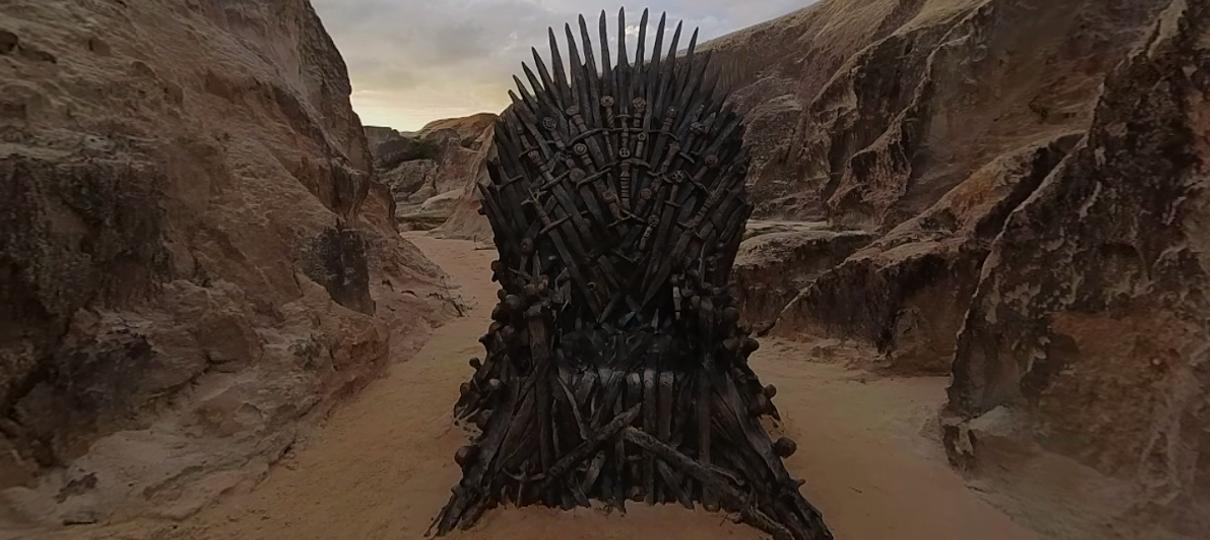 Game of Thrones | Trono de Ferro é encontrado em praia do Ceará