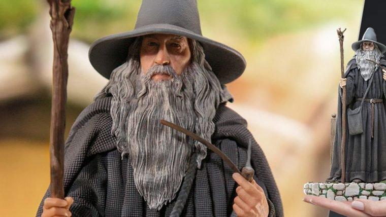 O Senhor dos Anéis | Iron Studios anuncia colecionáveis de Gandalf, Bilbo e Nazgûl