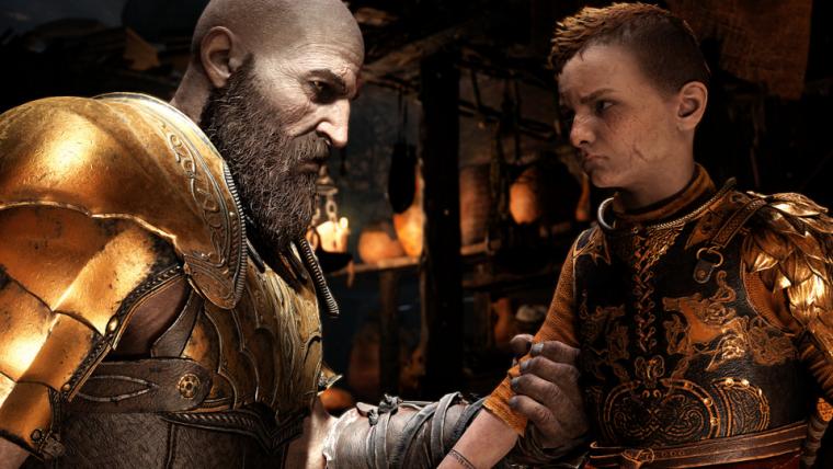 God of War | Fã reimagina pôster de Hellboy com a história de Kratos e Atreus