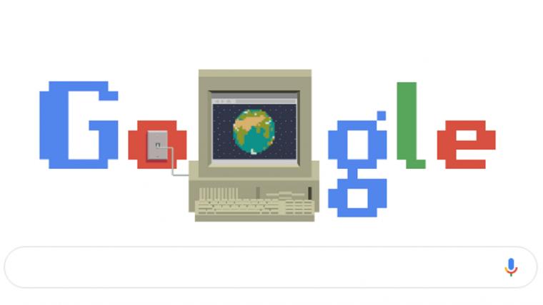 Google homenageia 30 anos da invenção da rede mundial de computadores