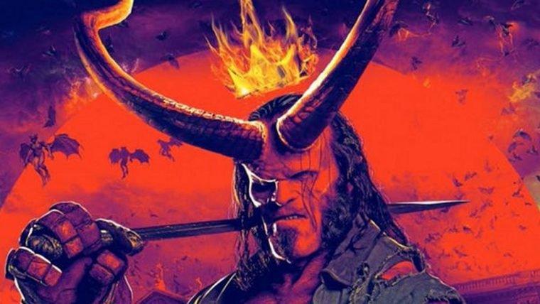 Hellboy está intimidador em novos pôsteres