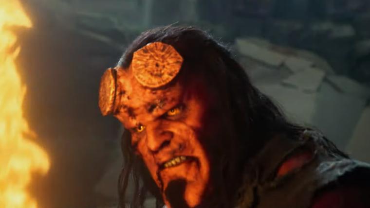 Hellboy luta contra criaturas gigantes em novos trailers do filme; assista