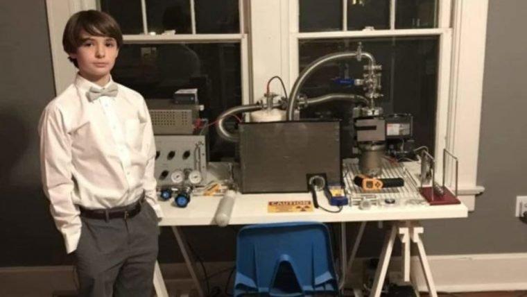 Esse menino de 14 anos construiu um reator nuclear em casa