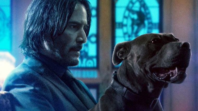 John Wick 3 – Parabellum ganha dez novos cartazes com cachorro, Laurence Fishburne e mais