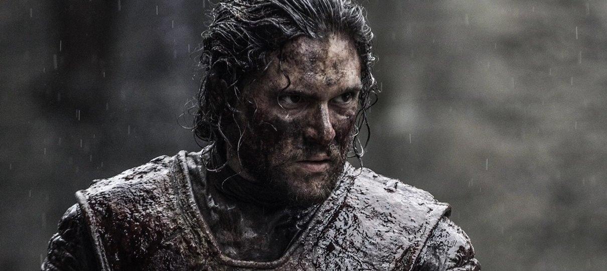 Kit Harington conta que não ficou feliz com 70% de suas cenas em Game of Thrones