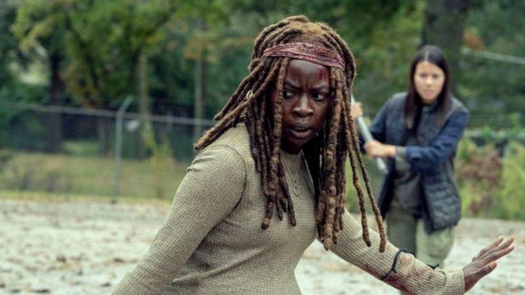 The Walking Dead | Cena do episódio mais recente explicou a cicatriz de Michonne