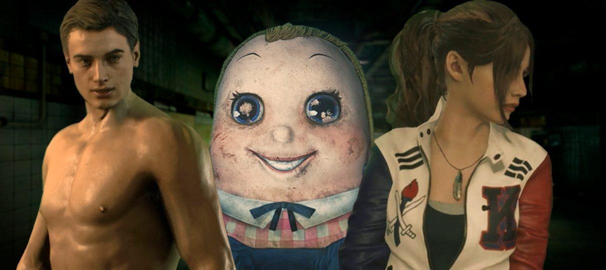 Leon de sunga, tofus-zumbi e BTS: confira os mods mais bizarros de Resident Evil 2
