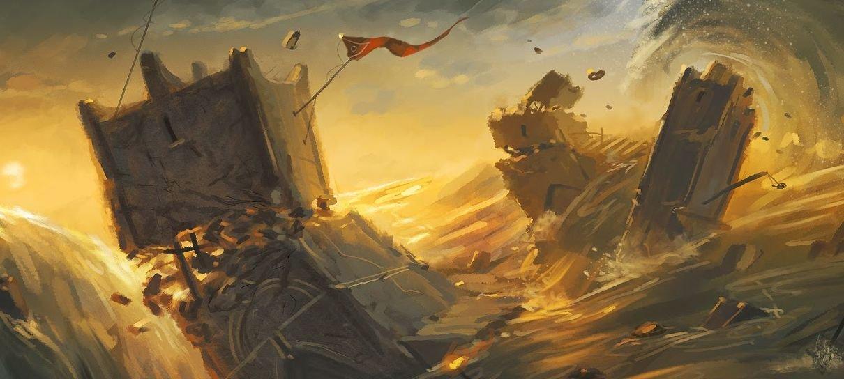 O Senhor dos Anéis   Conheça a história da Queda de Númenor, que pode inspirar a série
