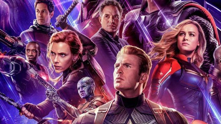 Cartaz de Vingadores: Ultimato reúne todos os heróis e apresenta Capitã Marvel ao time