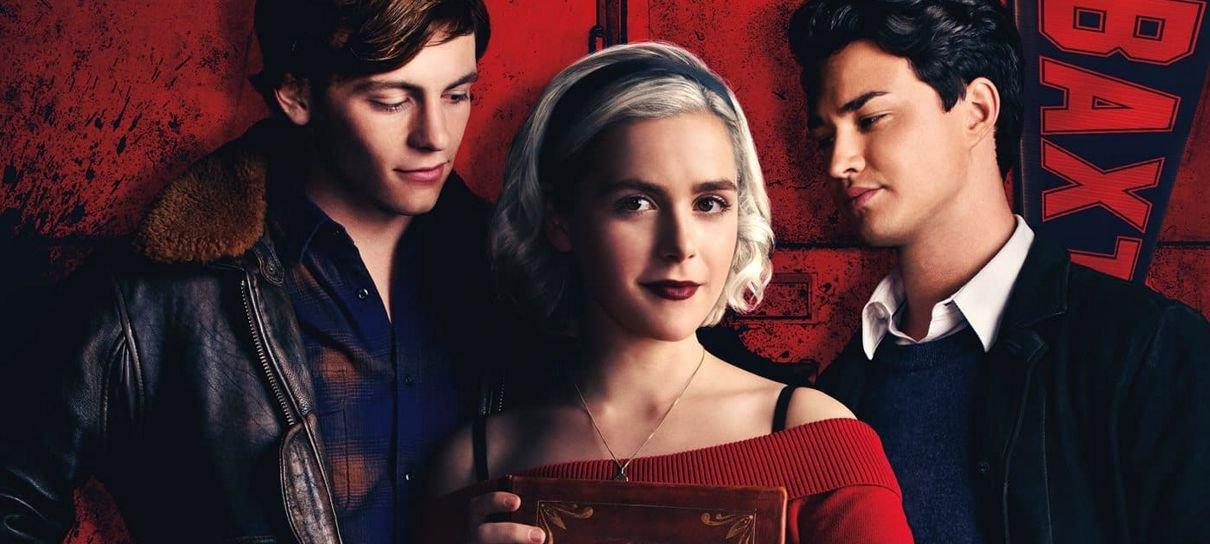O Mundo Sombrio de Sabrina | Bruxinha aparece dividida em pôster da segunda temporada