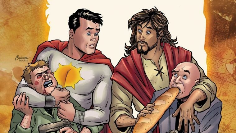 Second Coming   HQ sobre Jesus Cristo super-herói encontra editora nos EUA