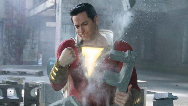 Shazam testa seus poderes em novas imagens do longa