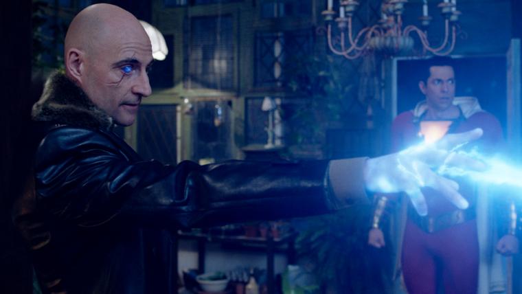 Doutor Silvana libera seus poderes em 20 novas fotos de Shazam!
