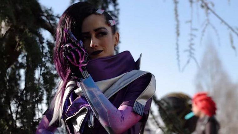 Overwatch | Atriz que dá voz à Sombra fez cosplay da personagem