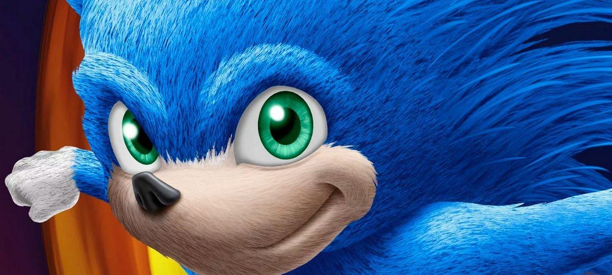 Sonic: O Filme   Imagens vazadas mostram um ouriço saído de pesadelos