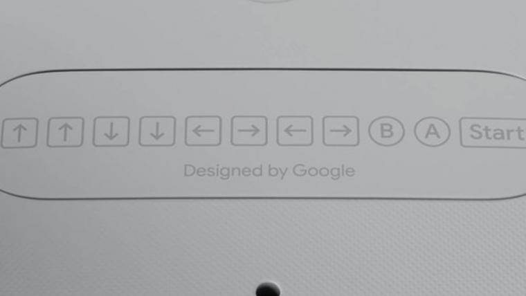 Controle do Google Stadia tem referência ao Konami Code