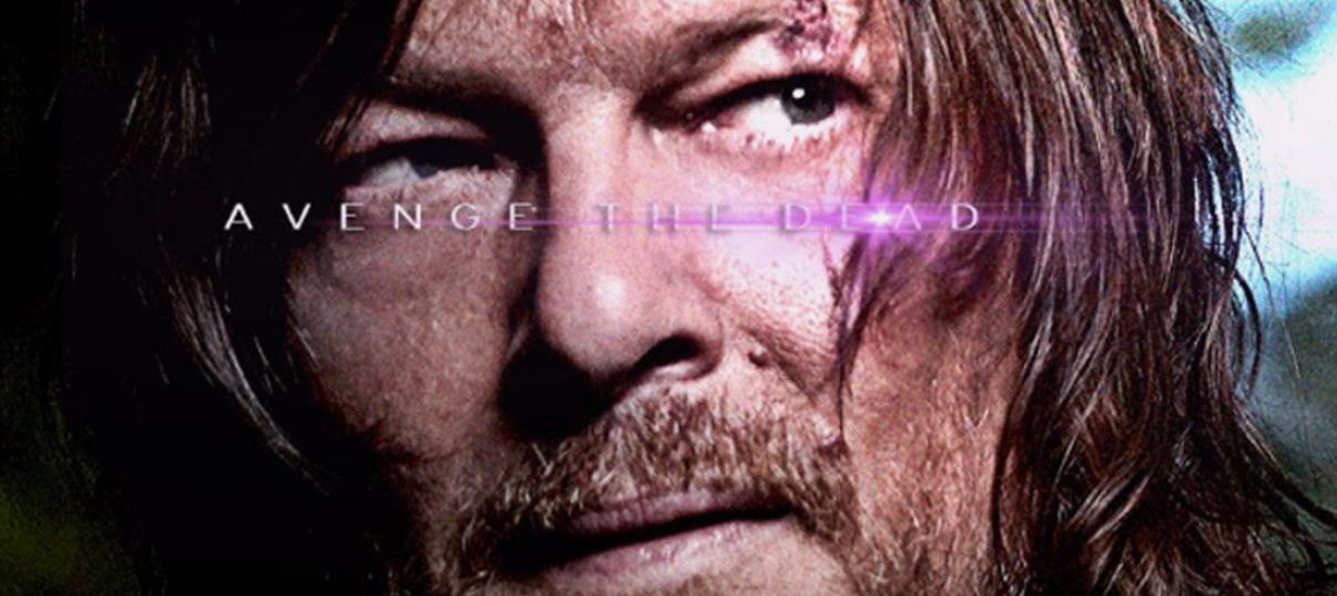 The Walking Dead faz zoeira com os pôsteres de Vingadores: Ultimato