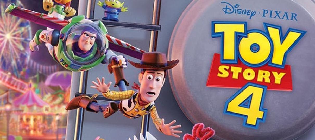 Toy Story 4 | Brinquedos embarcam na aventura de suas vidas em novo cartaz