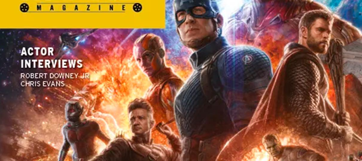 Vingadores: Ultimato | Heróis aparecem reunidos com Capitã Marvel em capa de revista