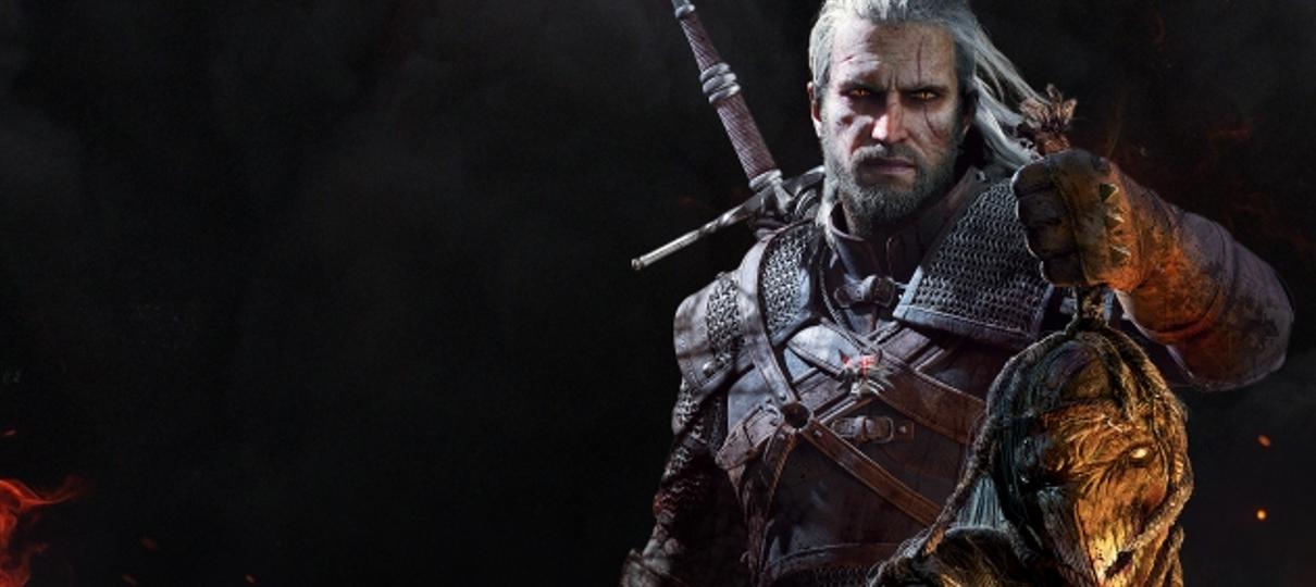 The Witcher | Henry Cavill aparece caracterizado como Geralt em foto do set