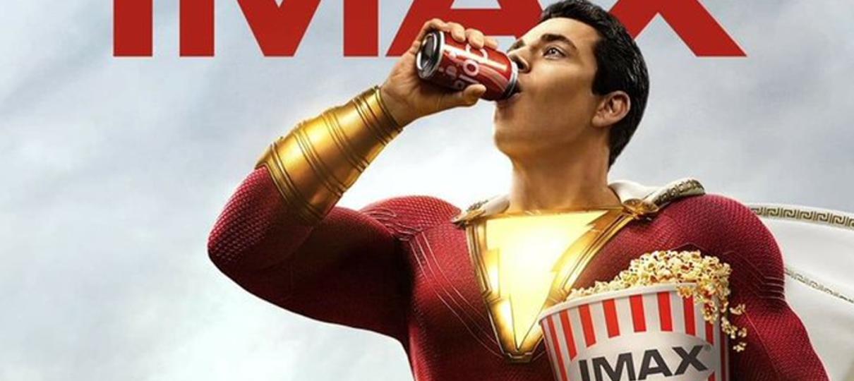 Shazam está pronto para ir ao cinema em novo cartaz do filme