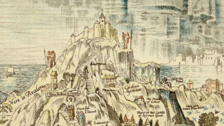 Mapa reúne mitologias e contos de fadas em um único lugar