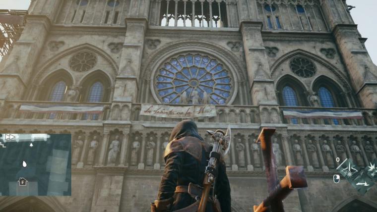 Assassin's Creed Unity pode ajudar na reconstrução da Catedral de Notre Dame