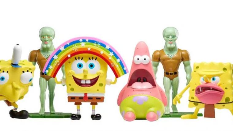 Memes do Bob Esponja ganham estátuas oficiais pela Nickelodeon