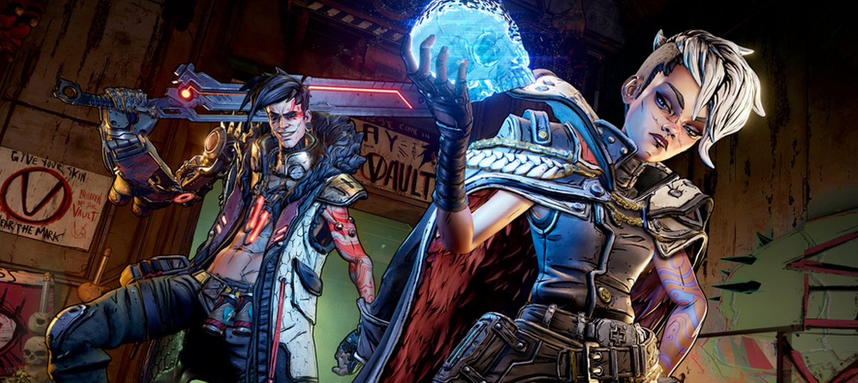 Jogos de Borderlands estão sendo bombardeados com reviews negativas no Steam