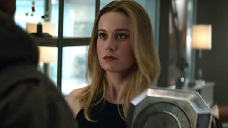 Brie Larson gravou suas cenas em Vingadores: Ultimato antes de Capitã Marvel
