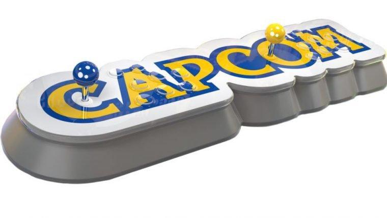 Capcom anuncia console mini em forma de controle arcade