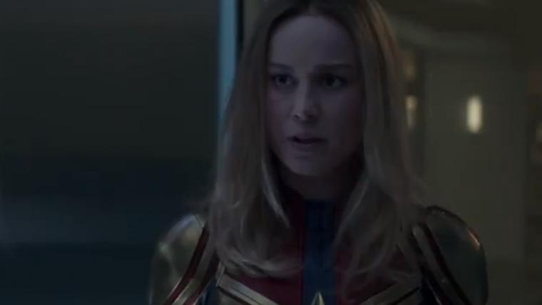 Vingadores: Ultimato | Cena mostra a chegada de Capitã Marvel à Terra