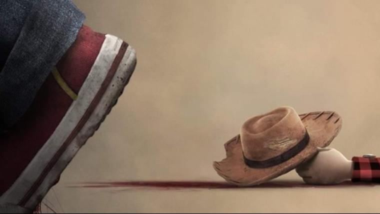 Chucky, o Brinquedo Assassino, mata Woody em cartaz que parodia Toy Story