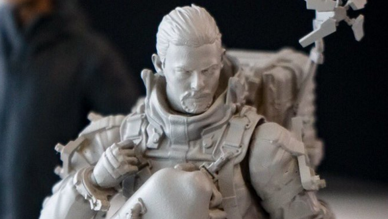 Death Stranding | Kojima publica imagens de protótipo de figure do protagonista