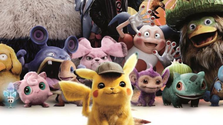 Detetive Pikachu | Pokémon se enfileiram em novo cartaz do filme