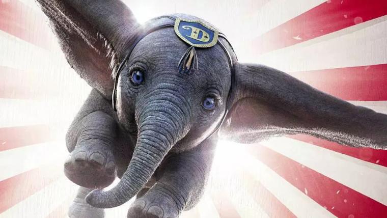 Abaixo das expectativas, Dumbo de Tim Burton fica em primeiro e lidera bilheterias nos EUA