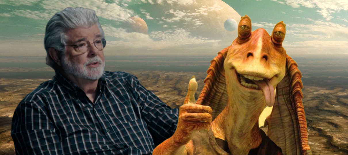 George Lucas defende Jar Jar Binks: