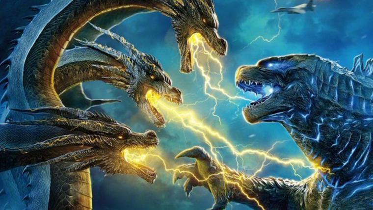 Godzilla II: Rei dos Monstros   Criaturas se enfrentam em novo cartaz