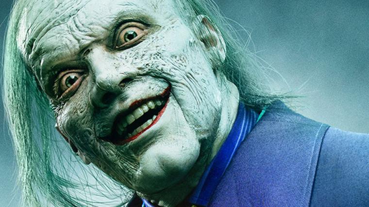 Gotham | Visual final do Coringa é revelado em novo teaser (e é bizarro)