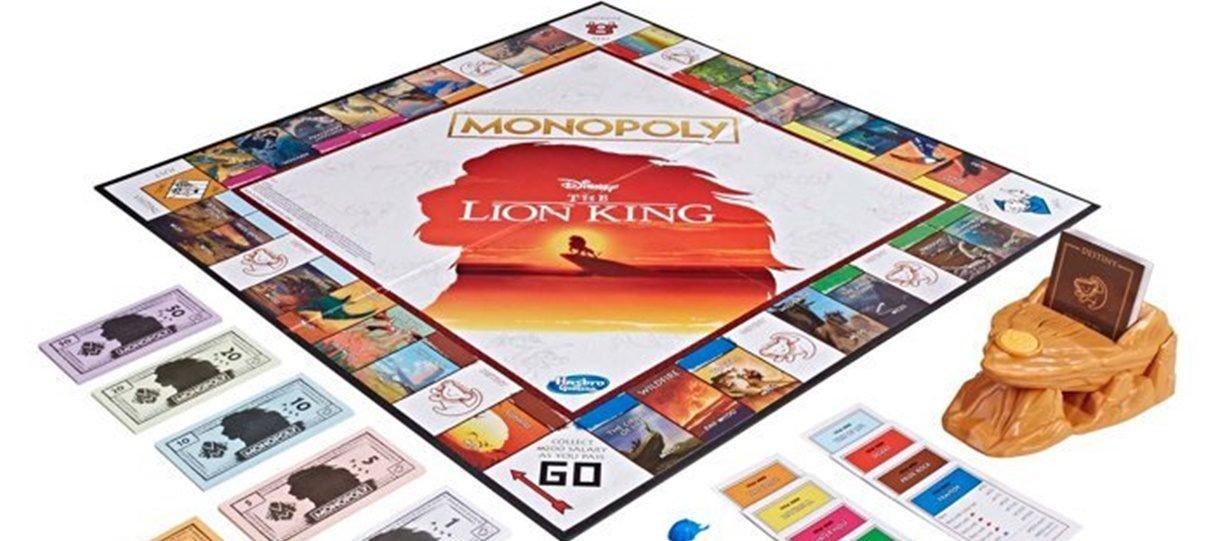 Hasbro anuncia Monopoly inspirado em O Rei Leão