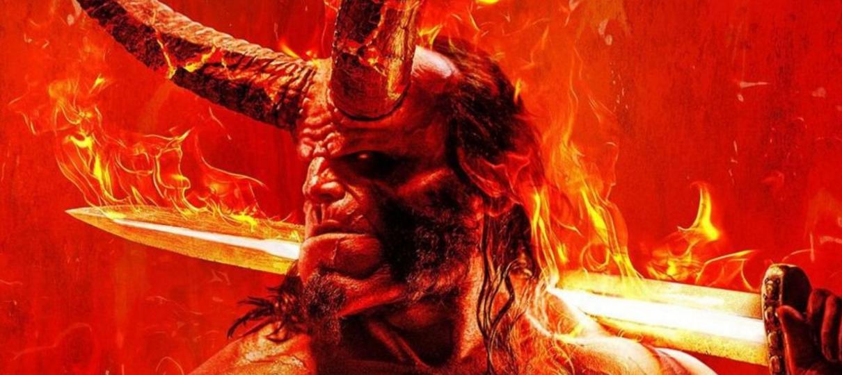 Hellboy   David Harbour tenta falar nomes do capeta em novo vídeo promocional