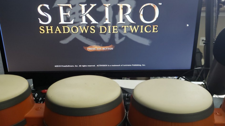 Jogador zera Sekiro: Shadows Die Twice usando tambores de Donkey Kong